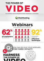 The power of video in making your webinar a success
